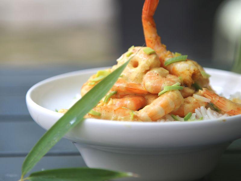 Crevettes Au Curry Express Recette De Crevettes Au Curry Express