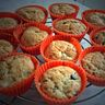 Muffins banane-chocolat-pralin