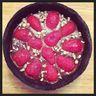 Tarte au Chocolat, à la pâte d'Oreo et fraises