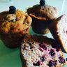 Muffins aux mûres très faciles