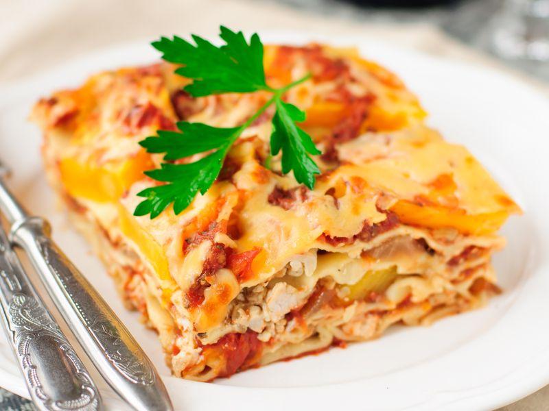 Lasagne Idee Recette.Lasagnes Au Poulet Recette De Lasagnes Au Poulet Marmiton