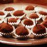 Truffes au chocolat parfumées au cognac