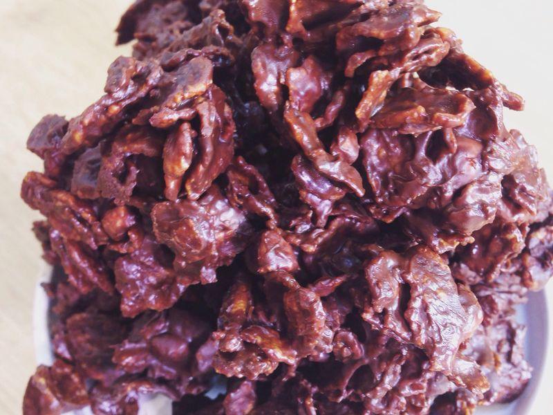 Roses Des Sables Au Chocolat Faciles Recette De Roses Des Sables