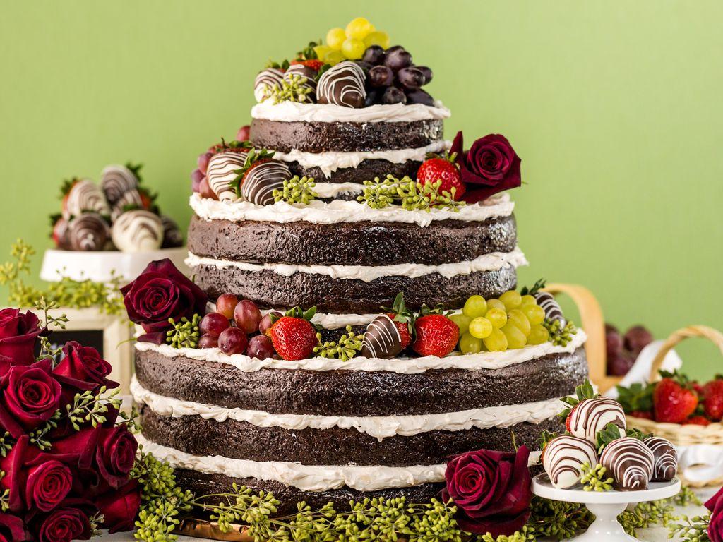 Gâteau à étages vanille chocolat  Recette de Gâteau à étages vanille  chocolat , Marmiton