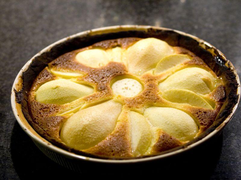 Gâteau Au Yaourt Poires Amandes Recette De Gâteau Au Yaourt Poires