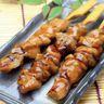 Brochettes de poulet au miel au barbecue sans fumée