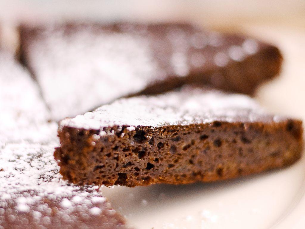 Gâteau chocolat sans beurre (avec miel et courgettes ...