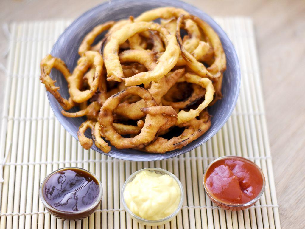 onion rings p te beignet recette de onion rings. Black Bedroom Furniture Sets. Home Design Ideas