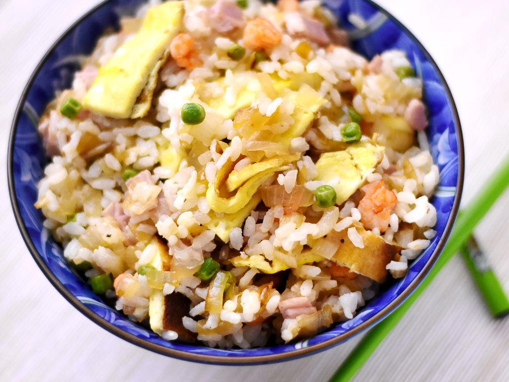 Régalez-vous avec cette recette du riz cantonais