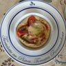 Tarte au pistou, à la tomate et au Rocamadour