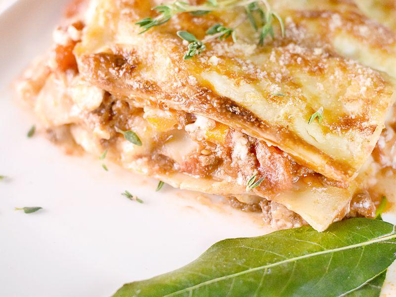 Lasagne Idee Recette.Lasagnes A La Bolognaise Recette De Lasagnes A La