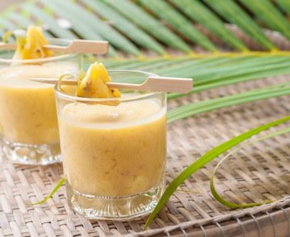 Smoothie aux fruits exotiques : Recette de Smoothie aux ...
