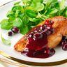 Poulet aux cranberries / canneberges
