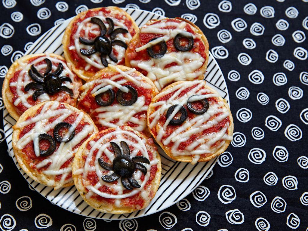 Mini pizzas du diable (spécial Halloween)