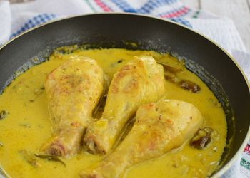 Cuisse de poulet au curry au four facile : Recette de Cuisse de poulet au curry au four facile - Marmiton