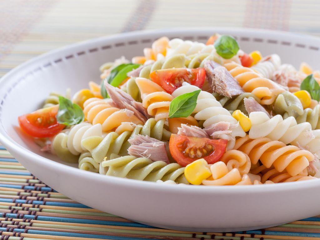 Idee Repas Froid Midi.Salade De Pates Au Thon