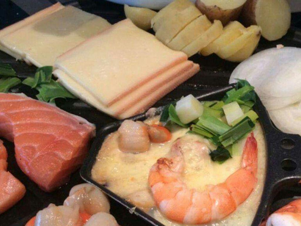 Raclette de la mer : Recette de Raclette de la mer - Marmiton
