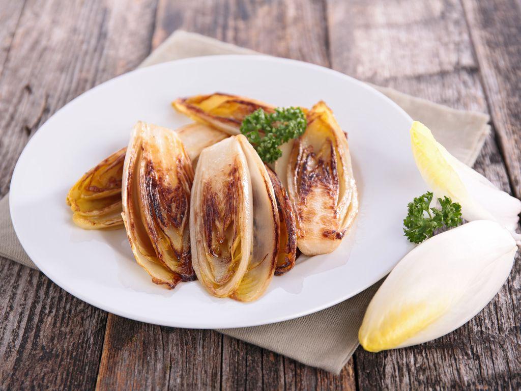 Endives braisées au four caramélisées (végétarien)  Recette de Endives  braisées au four caramélisées (végétarien) , Marmiton