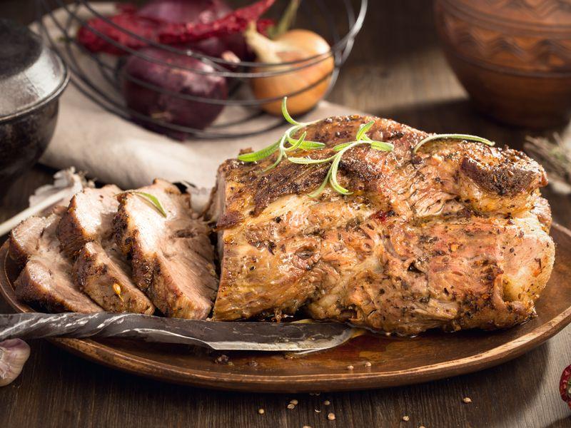 Rôti de porc en cocotte minute  Recette de Rôti de porc en