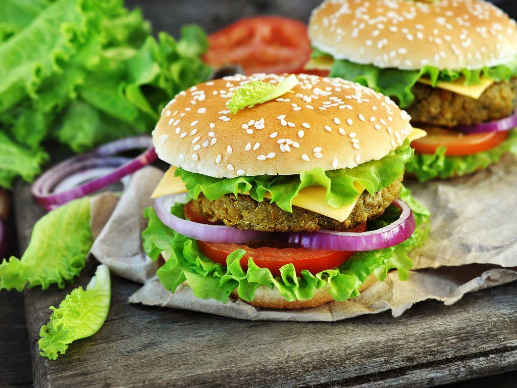 """Résultat de recherche d'images pour """"Burger aux lentilles"""""""