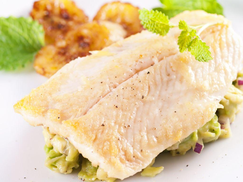 Filets de merlan au four et sa julienne de l gumes - Cuisiner filet de julienne ...