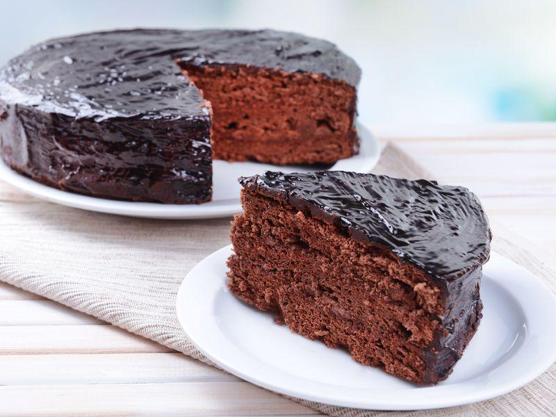 Moelleux Au Chocolat Avec Glacage De Vaness Recette De
