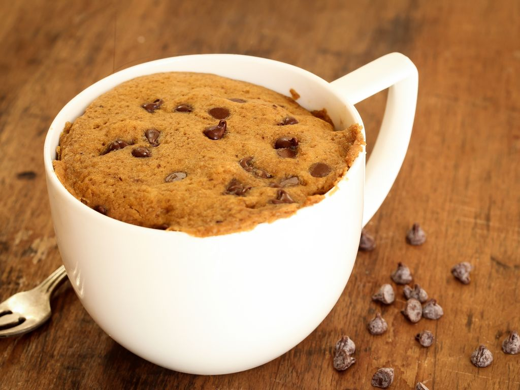 Mug cake sans oeuf, beurre ni sucre : Recette de Mug cake ...