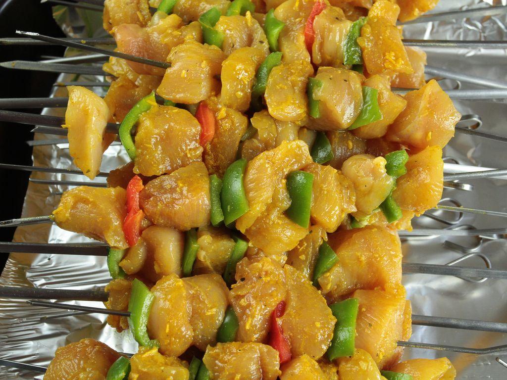 recette marinade poulet brochette