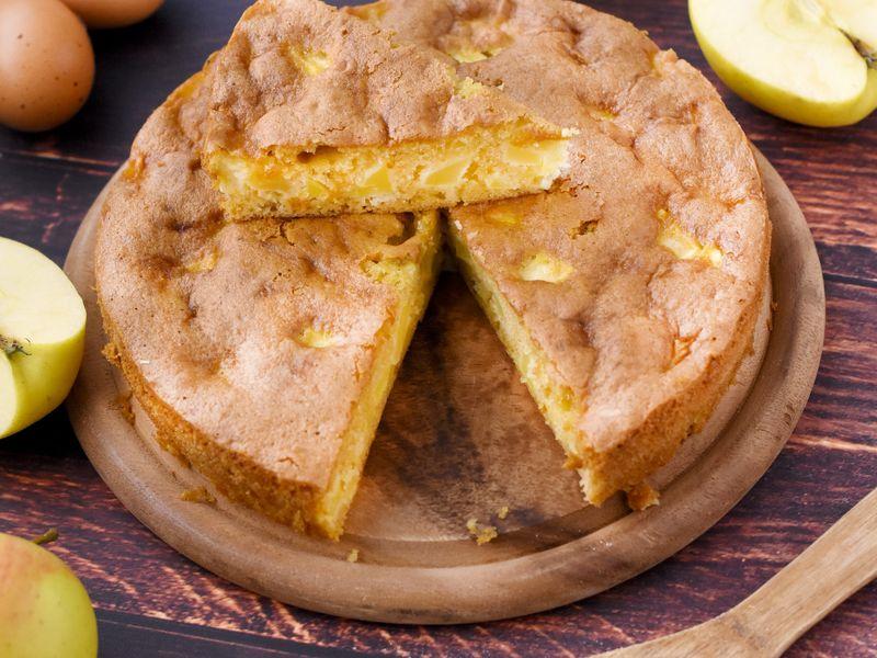 Gâteau Aux Pommes Facile Recette De Gâteau Aux Pommes Facile