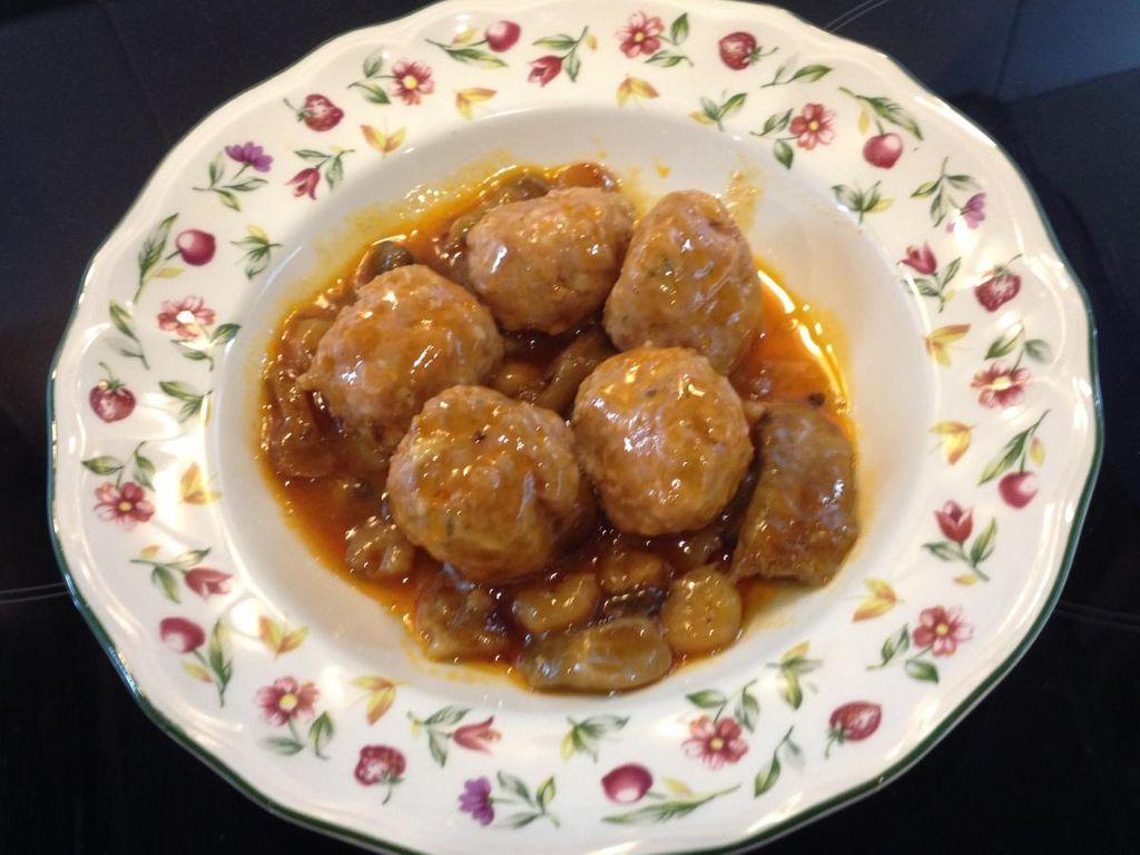 Boulettes de viande aux champignons : Recette de Boulettes ...