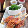 Brochette express poulet miel