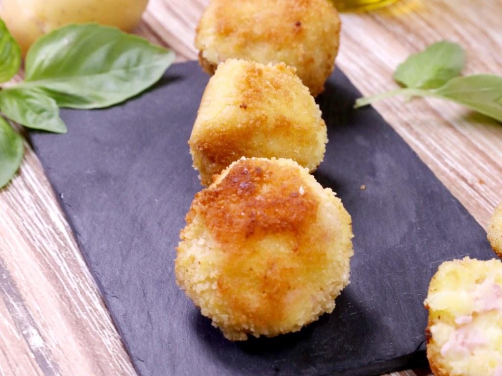 Croquette De Jambon Au Four croquette de jambon purée