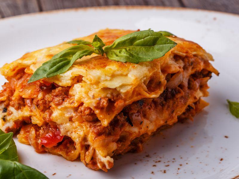 Lasagne Idee Recette.Lasagnes A La Bolognaise Tres Facile Recette De Lasagnes A
