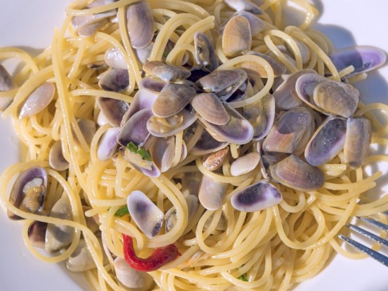 Spaghettis Aux Tellines Recette De Spaghettis Aux Tellines