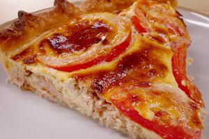 Tarte Thon Tomate Et Moutarde Recette De Tarte Thon Tomate Et Moutarde Marmiton