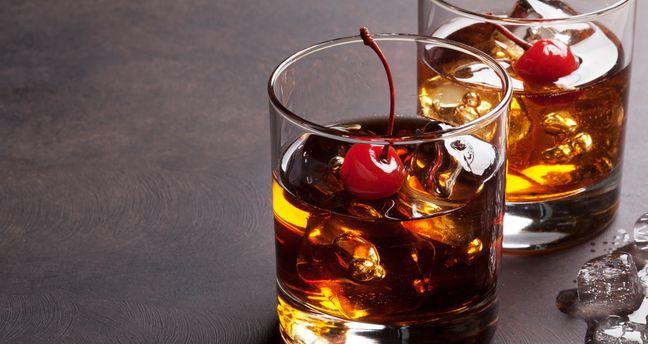 Brandy Manhattan Cocktail Brandy Manhattan 1001cocktails En
