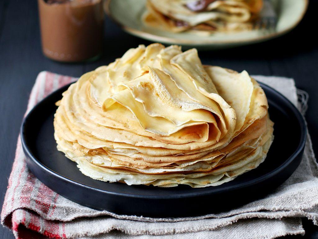 Pâte à crêpes sans lait : Recette de Pâte à crêpes sans ...
