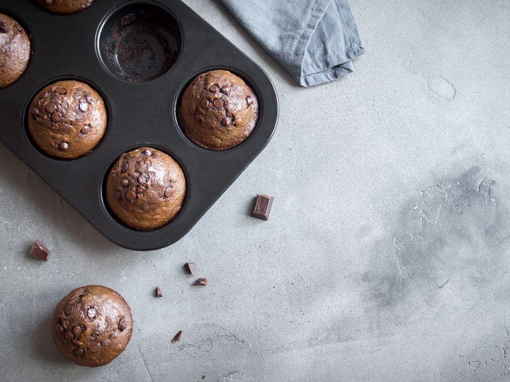 Muffins au chocolat light sans oeufs : Recette de Muffins au chocolat light sans oeufs - Marmiton
