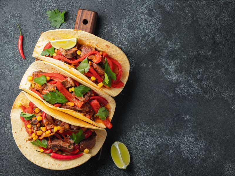 Tacos mexicains  Recette de Tacos mexicains , Marmiton