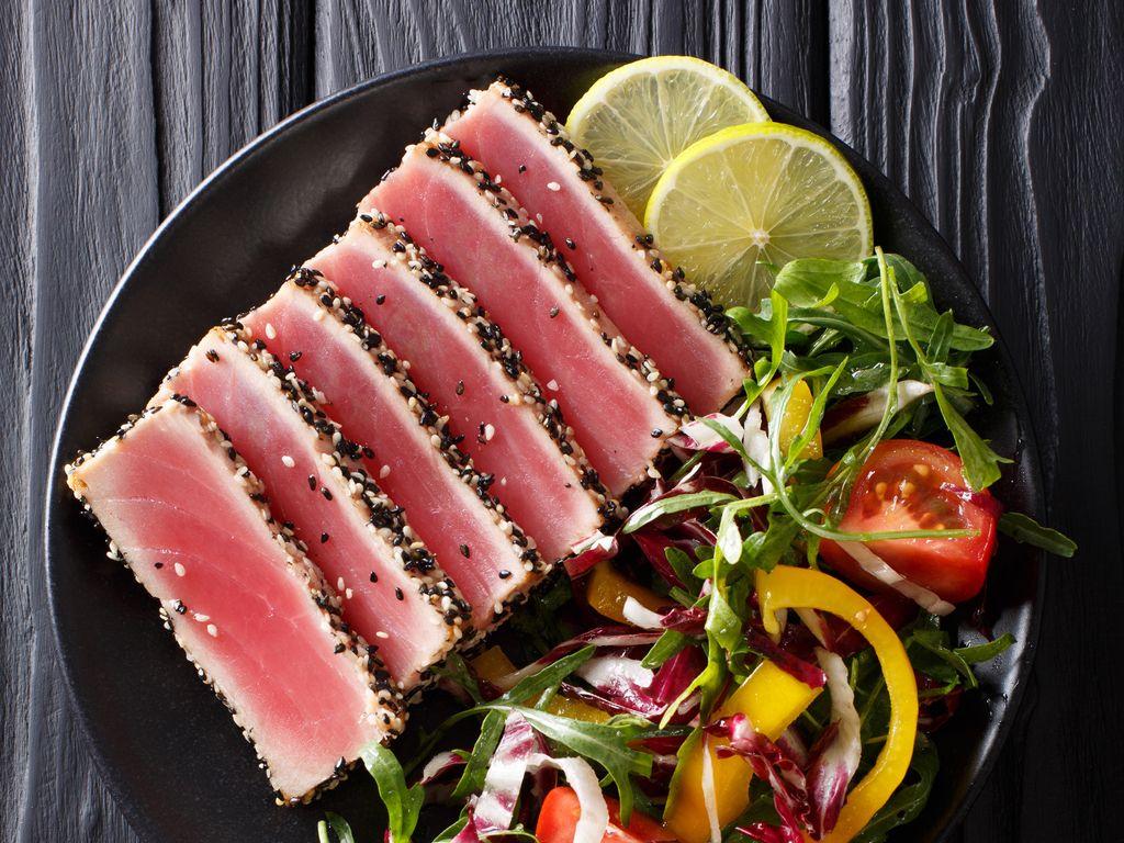 Mi-cuit de thon rouge : Recette de Mi-cuit de thon rouge ...