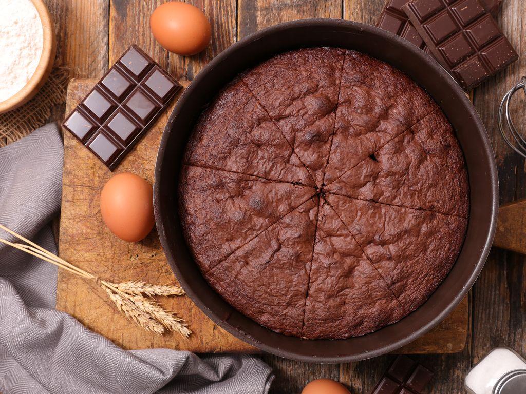 Idée De Dessert Facile.Gâteau Au Chocolat Fondant Rapide