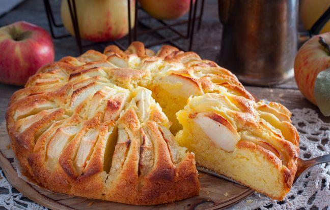 Gâteau aux pommes au Cookeo
