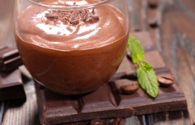 Mousse au chocolat au Cookeo