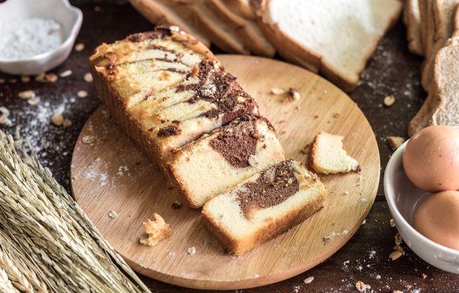 Marbré au chocolat au Thermomix