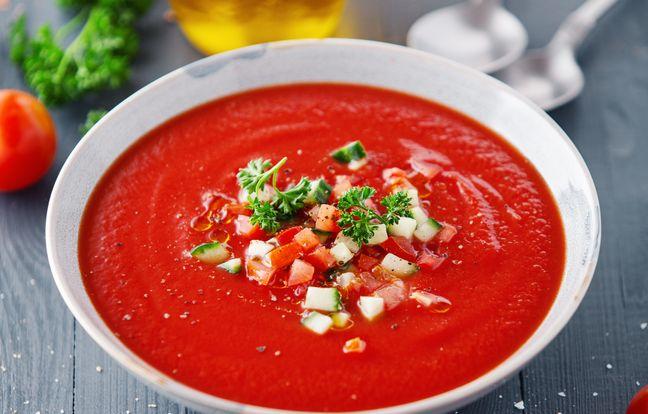 Tomaten-Gazpacho