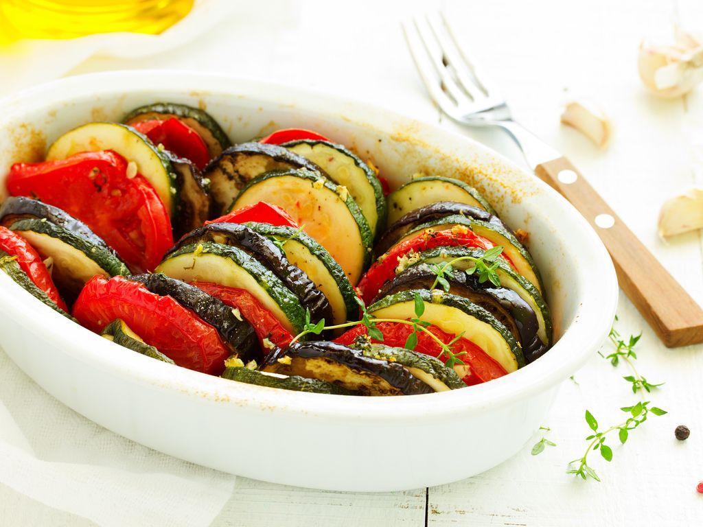 Recette Facile Du Tian Provencal tian provençal au cookeo