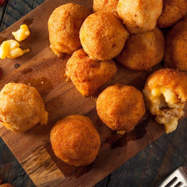 Croquettes de macaroni au Gruyère AOP suisse