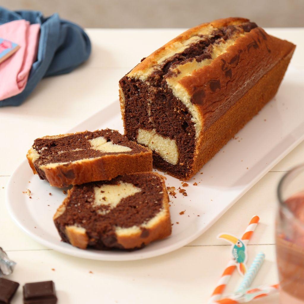 Cake Marbré Au Chocolat Très Facile Recette De Cake Marbré Au Chocolat Très Facile Marmiton