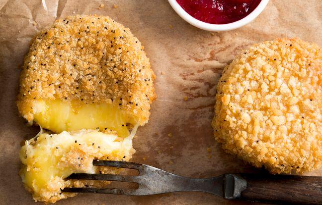 Camembert pané au sésame