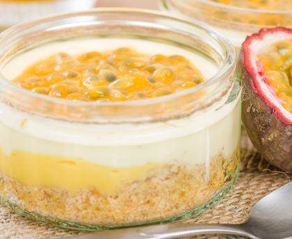 Cheesecake revisité mangue passion